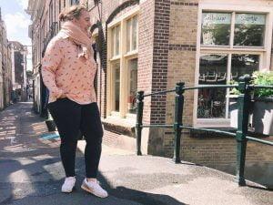 Zeeman_blouse_kreeft_outfit_budget outfit_Fabienne Chapot_look-a-like_mamablogger_