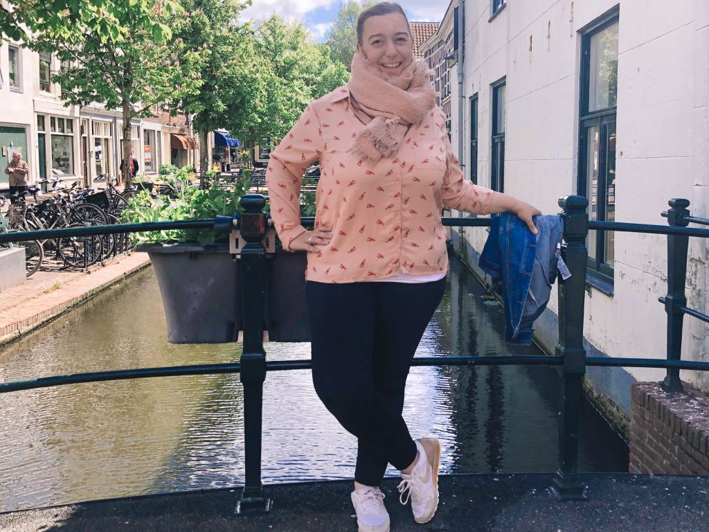 Zeeman_blouse_kreeft_outfit_budget outfit_Fabienne Chapot_look-a-like_mamablogger_