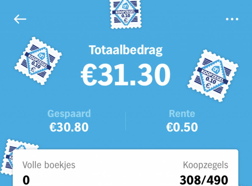 Geld & Budget | We zijn weer begonnen met koopzegels sparen