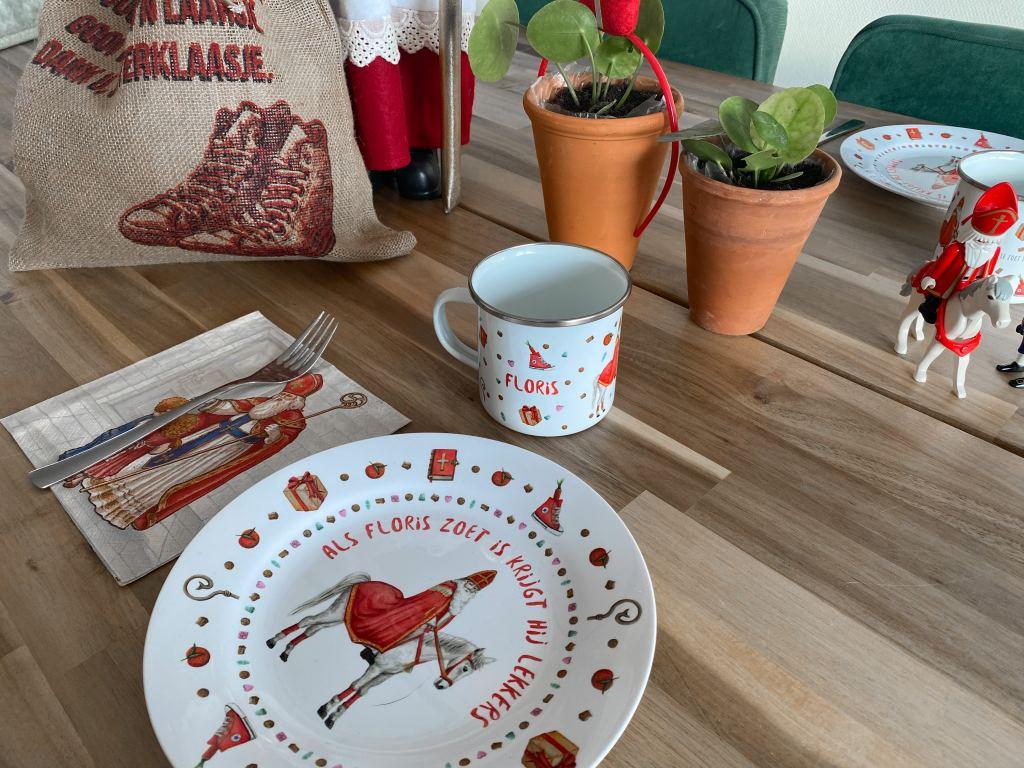 Aftellen naar Sinterklaas 2020 #3 | De tafel dekken voor pakjesavond!
