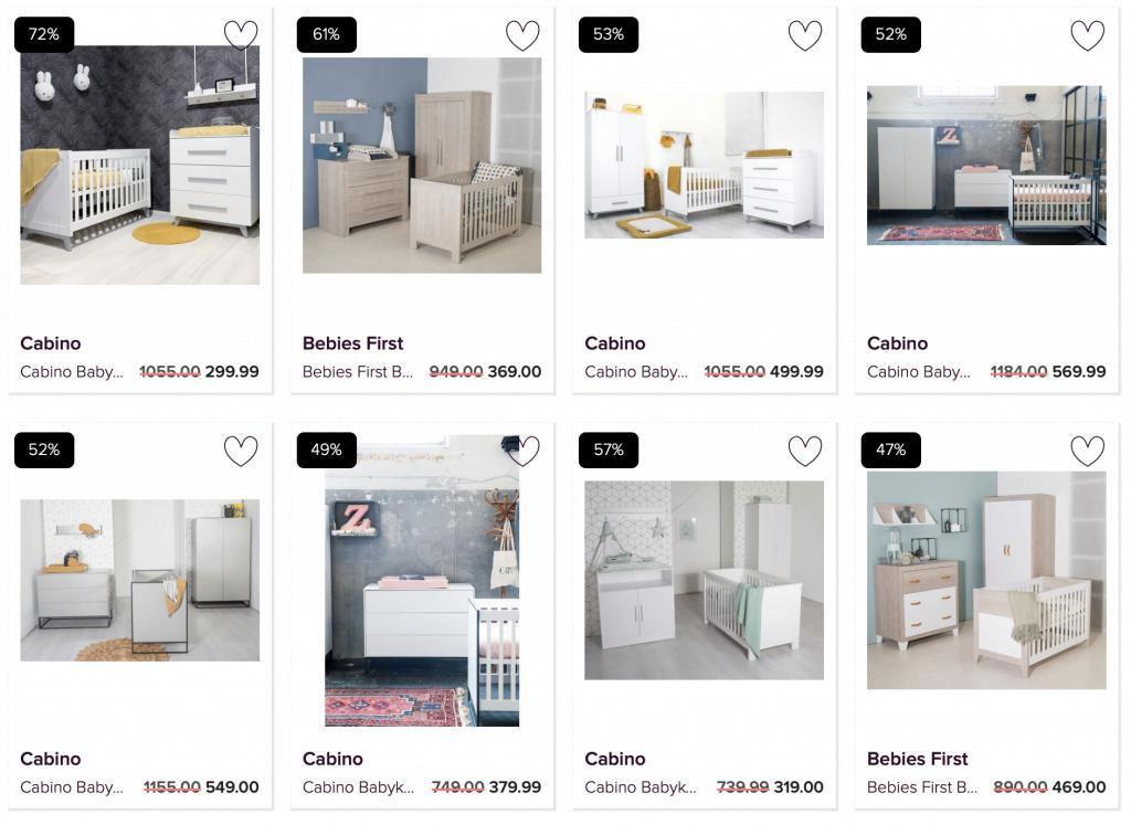 Tip: goedkope, complete babykamers bij V&D (echt waar!)