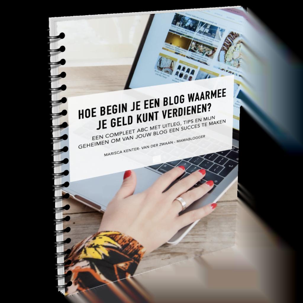 Hoe begin je een blog waarmee je geld kunt verdienen? Je leest het in mijn e-book!