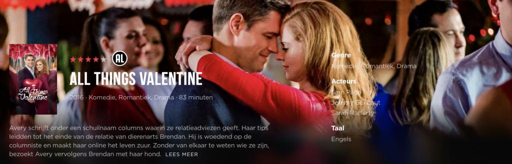 Lijstje van de week | De lekkerste valentijnsfilms op Videoland en Netflix