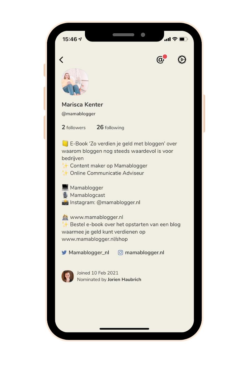 Clubhouse_moeders_app_tip_mamablogger_zelfontwikkeling_