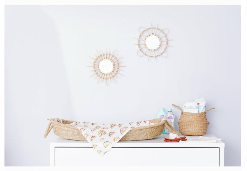 Tip | De nieuwe rotan collectie van Kruidvat Bambino voor de baby- en kinderkamer!
