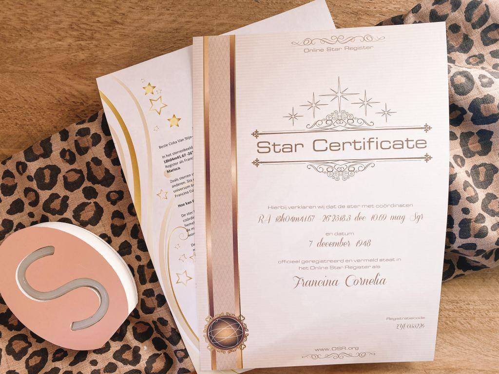 Moederdag_cadeau_Ster_Star_register_mamablogger_tip_