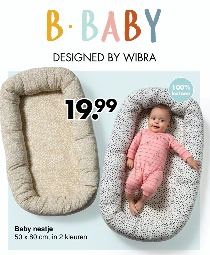 De nieuwe babycollectie van Wibra met te gekke babynestjes en nog meer budgettoppers!