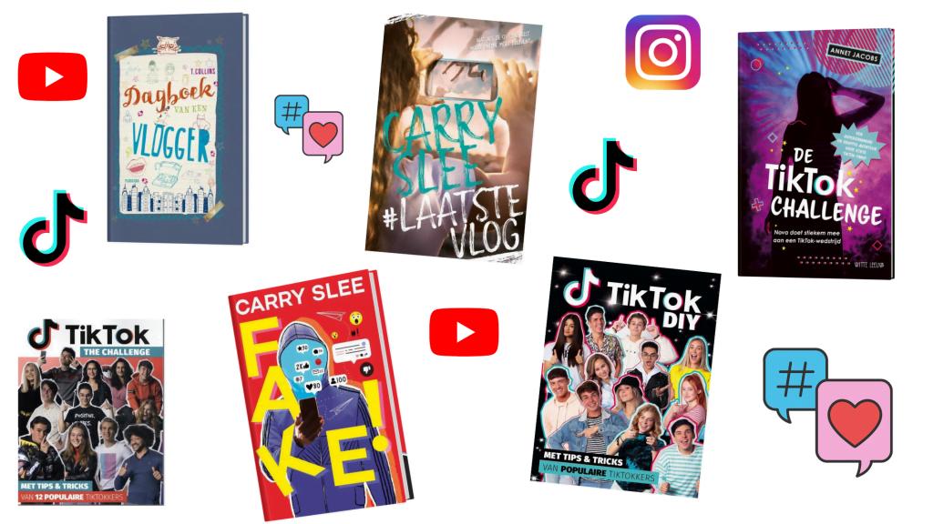 Boeken over social media voor (bijna) tieners