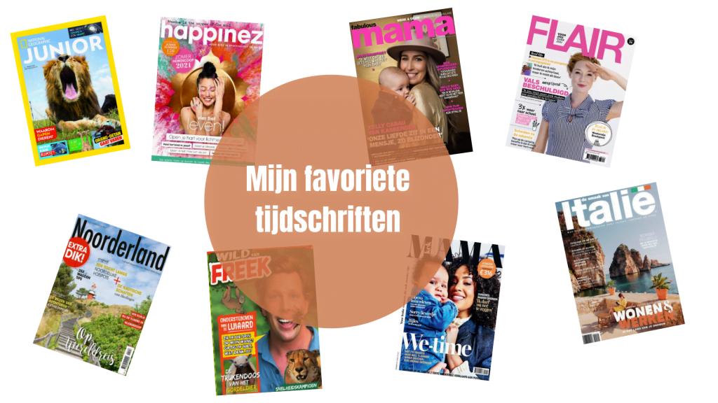 Lifestyle   Mijn favoriete tijdschriften
