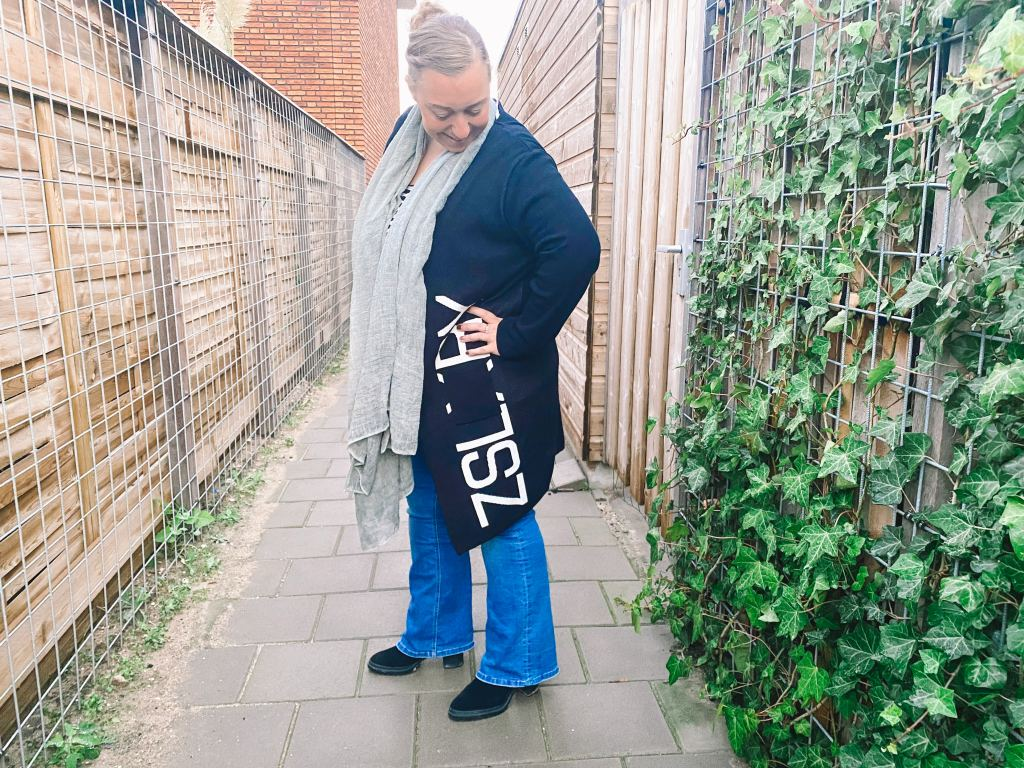flared jeans_mamablogger_mama's outfits_Red Button_Babette_